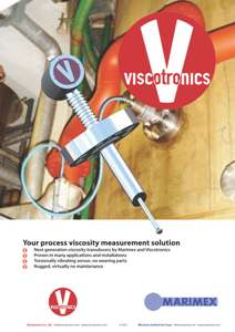 Marimex Process Viscometer Brochure