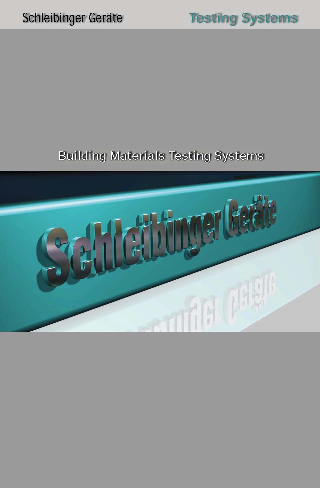 Schleibinger Testing Systems Catalogue